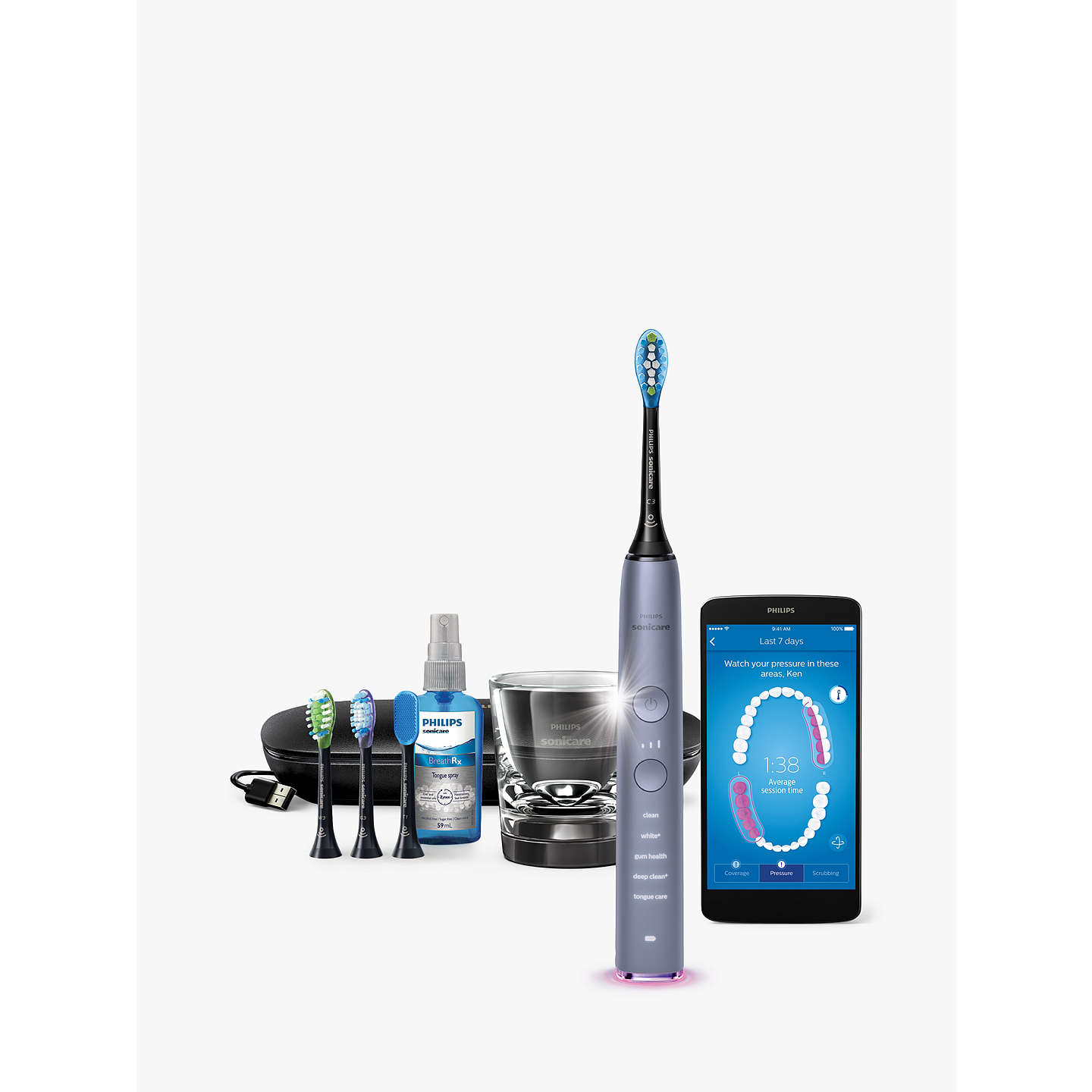 Philips Hx9924  44 Diamondclean Smart Sonic Electric