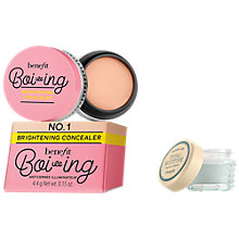 Buy Benefit Boi-ing Brightening Concealer, Deep with Total Moisture Gift Online at johnlewis.com