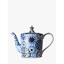 Buy T2 Dazed and Dazzled Tall Teapot, Blue, 900ml Online at johnlewis.com