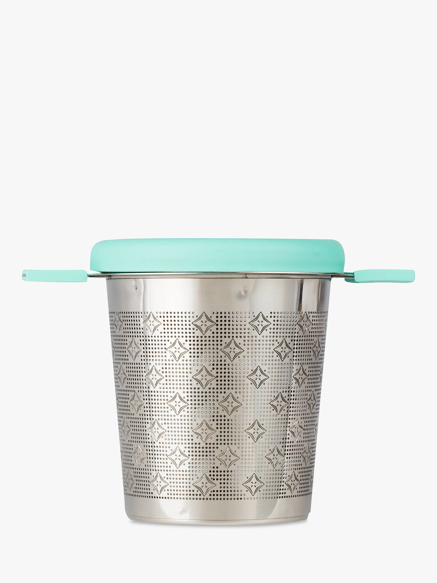 Buy T2 Merriest Tea Infuser, Aqua Online at johnlewis.com