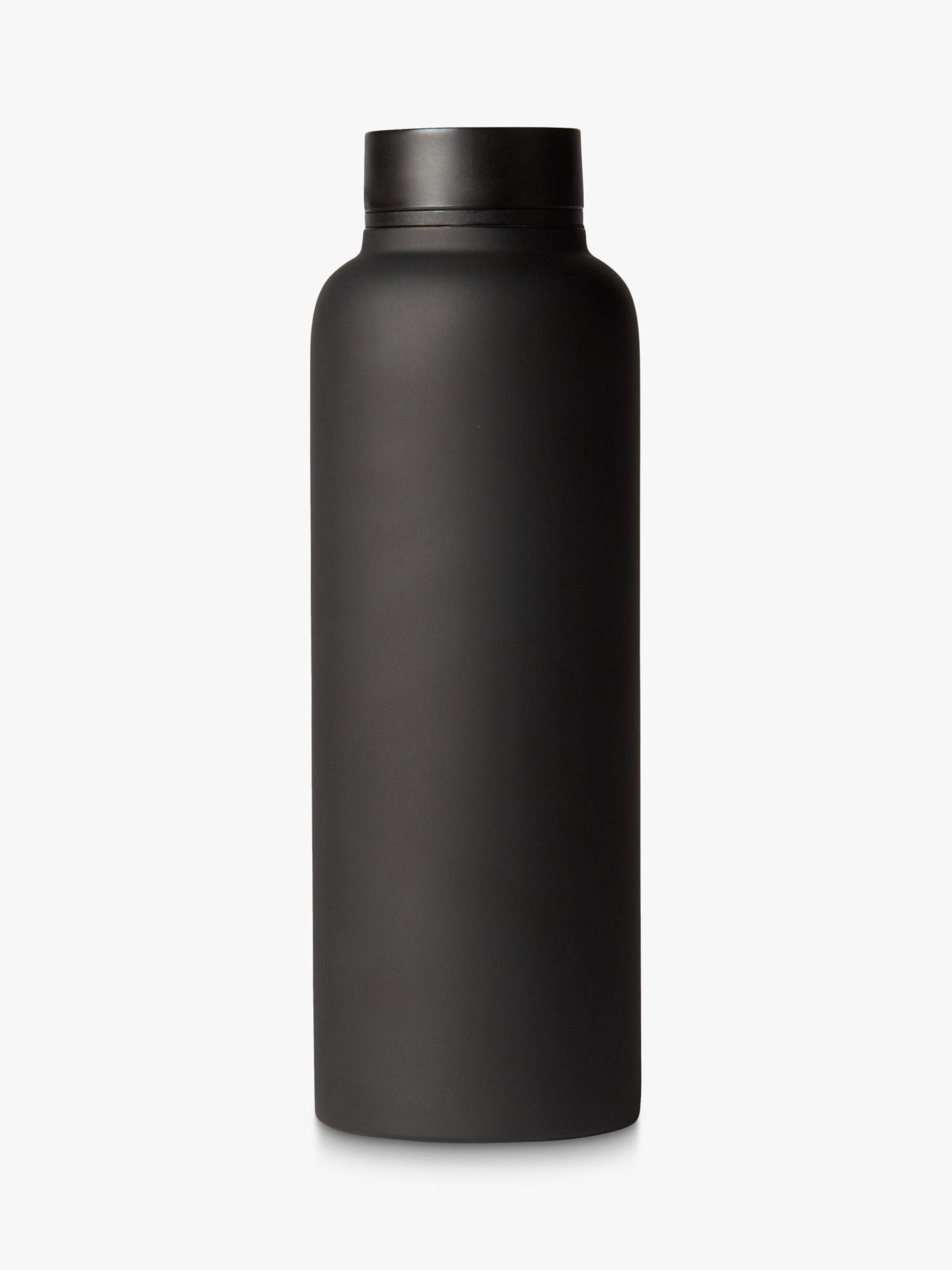 BuyT2 Travel Flask, Stainless Steel, Black Online at johnlewis.com