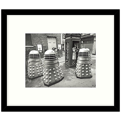 Buy Getty Images Gallery - Exterminate 1965 Framed Print, 57 x 49cm Online at johnlewis.com