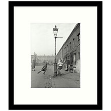 Buy Getty Images Gallery - Children Swinging 1950 Framed Print, 49 x 57cm Online at johnlewis.com