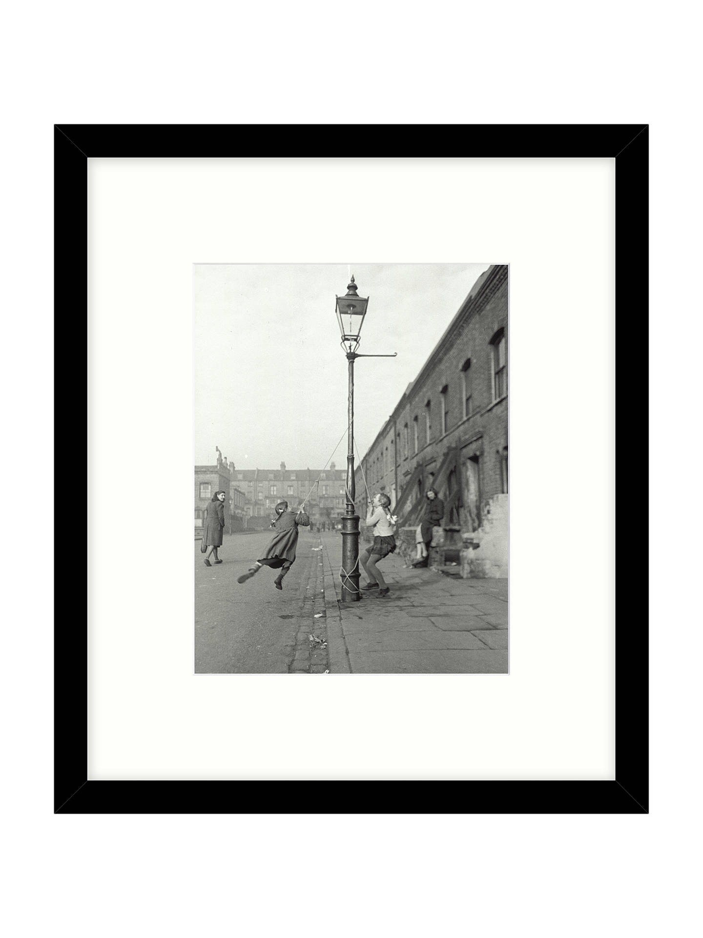 BuyGetty Images Gallery - Children Swinging 1950 Framed Print, 49 x 57cm Online at johnlewis.com