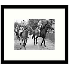 Buy Getty Images Gallery - Royal Sisters 1969 Framed Print, 57 x 49cm Online at johnlewis.com