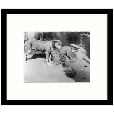 Getty Images Gallery – Helpful Dog 1923 Framed Print, 57 x 49cm
