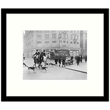 Buy Getty Images Gallery - Huntsmen In Town 1926 Framed Print, 57 x 49cm Online at johnlewis.com