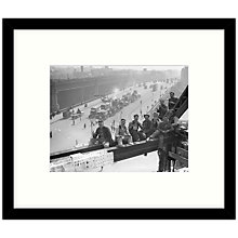 Buy Getty Images Gallery - Tea Break 1931 Framed Print, 57 x 49cm Online at johnlewis.com