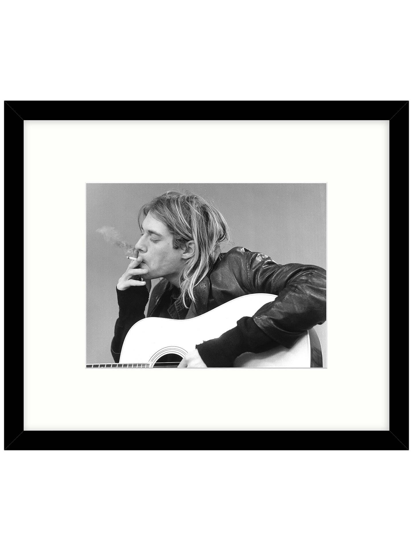 Getty Images Gallery - Kurt Cobain & Nirvana 1991 Framed Print, 57 x ...