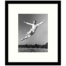 Buy Getty Images Gallery - Fred Astaire Photo Session Framed Print, 49 x 57cm Online at johnlewis.com