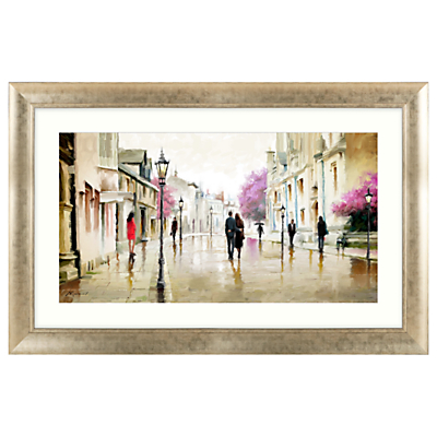 Richard Macneil – Afternoon Stroll Framed Print, 112 x 72cm