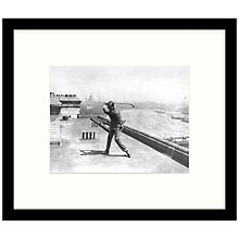 Buy Getty Images Gallery - Hagen On Roof 1922 Framed Print, 57 x 49cm Online at johnlewis.com