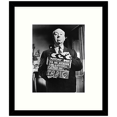 Getty Images Gallery – On The Set Of Psycho 1960 Framed Print, 49 x 57cm