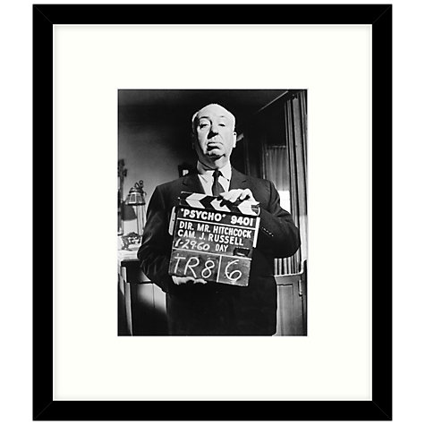 Buy Getty Images Gallery - On The Set Of Psycho 1960 Framed Print, 49 x 57cm Online at johnlewis.com