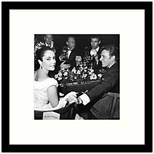 Buy Getty Images Gallery - Elizabeth & Richard 1963 Framed Print, 49 x 49cm Online at johnlewis.com