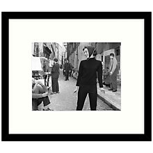 Buy Getty Images Gallery - Hepburn At Paris 1956 Framed Print, 57 x 49cm Online at johnlewis.com