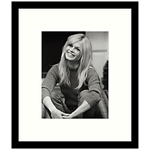 Buy Getty Images Gallery - Brigitte Bardot 1966 Framed Print, 49 x 49cm Online at johnlewis.com