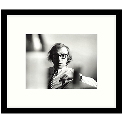 07aeca5afb4 Getty Images Gallery – Woody Allen 1970 Framed Print