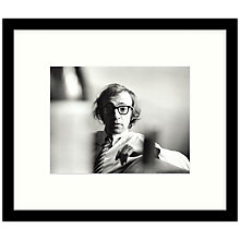 Buy Getty Images Gallery - Woody Allen 1970 Framed Print, 57 x 49cm Online at johnlewis.com