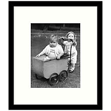 Buy Getty Images Gallery - The Big Push 1938 Framed Print, 49 x 57cm Online at johnlewis.com