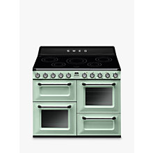 Buy Smeg TR4110IPG Victoria Range Cooker with Induction Hob Online at johnlewis.com