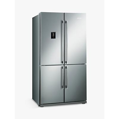 Smeg FQ60XPE Freestanding Fridge Freezer, A+ Energy Rating, 92cm, Stainless Steel