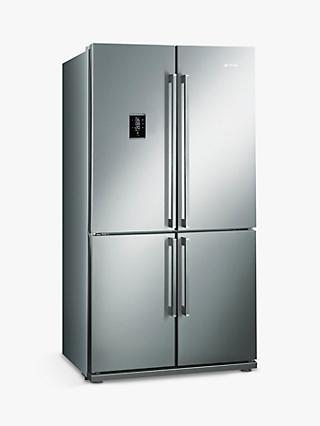 Smeg FQ60XPE Freestanding Fridge Freezer, A+ Energy Rating, 92cm, Stainless Steel