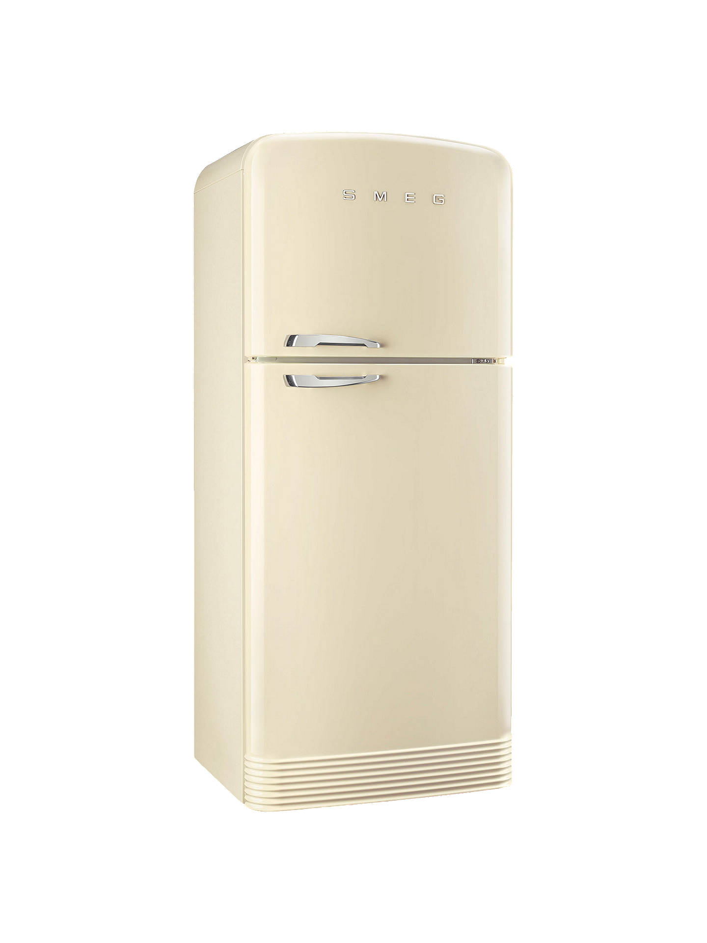 BuySmeg FAB50RCR Fridge Freezer, A++ Energy Rating, Right-Hand Hinge, 80cm Wide, Cream Online at johnlewis.com
