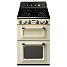 Buy Smeg TR62IBL Victoria Range Cooker with Induction Hob Online at johnlewis.com