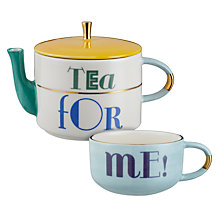 Buy Anthropologie My Chai Tea For One Teapot and Cup Online at johnlewis.com