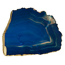 Buy Anthropologie Agate Cheese Board, 28cm, Blue Online at johnlewis.com