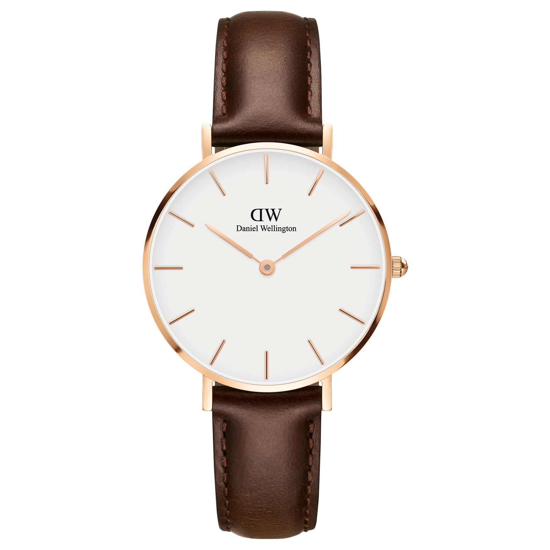 Daniel Wellington Daniel Wellington Women's 32mm Petite Leather Strap Watch