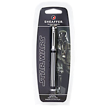 Buy Sheaffer Star Wars Darth Vader Rollerball Pen, Black Online at johnlewis.com