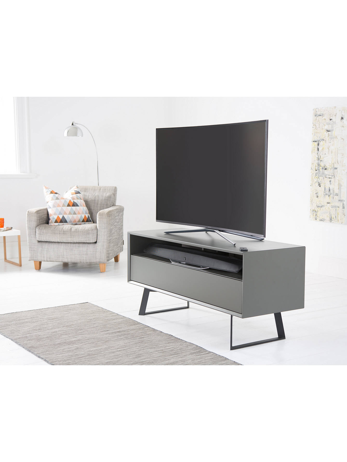 BuyQ Acoustics M3 Bluetooth NFC All-In-One Sound Bar, Black Online at johnlewis.com