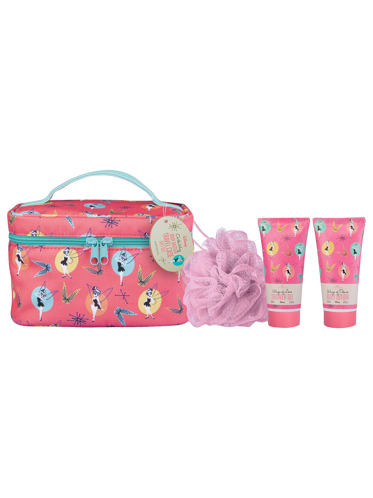 Mad Beauty Disney Tinkerbell Travel Gift Set at John Lewis & Partners