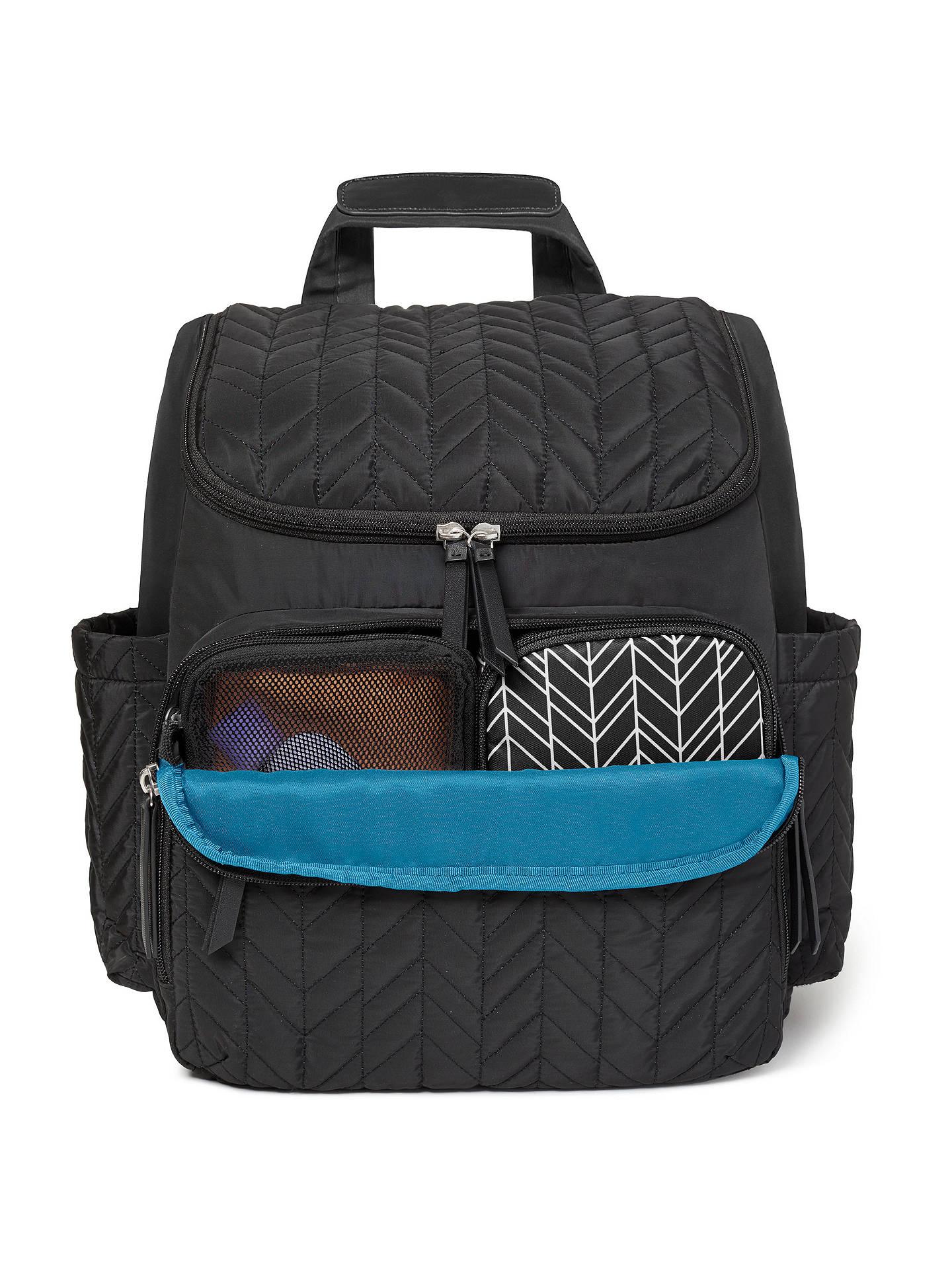 1e2f297cdc50 BuySkip Hop Forma Changing Backpack, Black Online at johnlewis.com ...