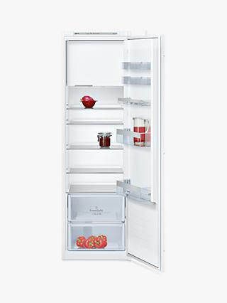 Neff KI2822S30G Larder Fridge with Freezer Compartment, A++ Energy Rating, 54cm Wide, White