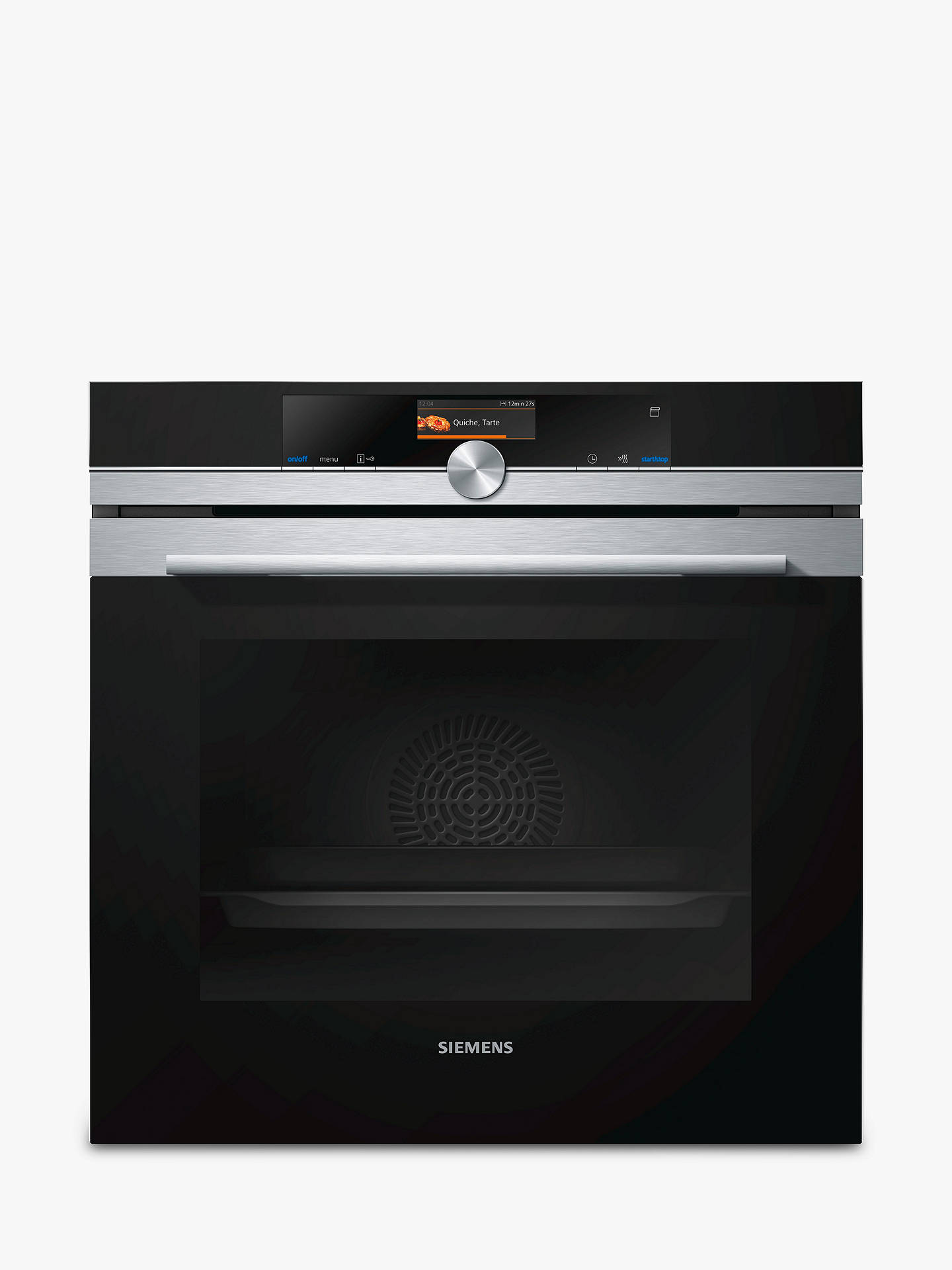 siemens hr676gbs6b built in single oven at john lewis. Black Bedroom Furniture Sets. Home Design Ideas