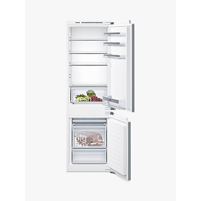 Siemens KI86VVF30G Fridge Freezer, A++ Energy Rating, 56cm Wide, White