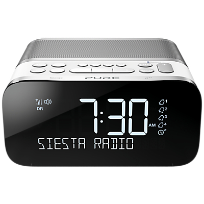 Image of Pure Siesta S6 DAB/DAB+/FM Bluetooth Bedside Clock Radio
