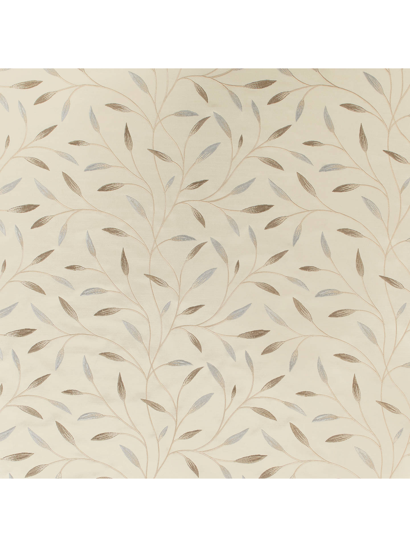 Buy John Lewis & Partners Christine Furnishing Fabric, Pearl Grey Online at johnlewis.com