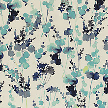 Buy John Lewis Olsen Furnishing Fabric, Blue Online at johnlewis.com