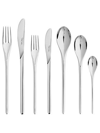 Robert Welch Bud Stainless Steel Cutlery Set, 84 Piece