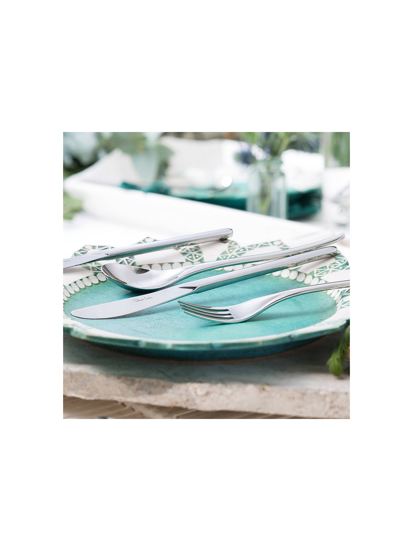 Buy Robert Welch Bud Stainless Steel Cutlery Set, 84 Piece/12 Place Settings Online at johnlewis.com