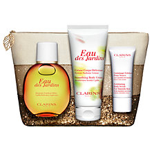 Buy Clarins Eau Des Jardins 100ml Eau de Toilette Fragrance Gift Set Online at johnlewis.com