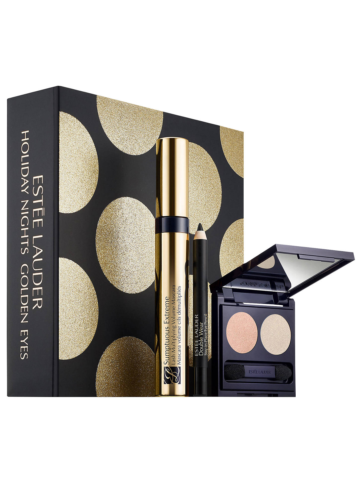 BuyEstée Lauder Holiday Nights, Golden Eyes Makeup Gift Set Online at johnlewis.com