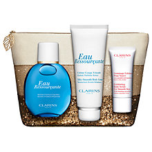 Buy Clarins Eau Ressourçante 100ml Eau de Toilette Fragrance Gift Set Online at johnlewis.com