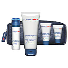 Buy ClarinsMen Hydration Skincare Gift Set Online at johnlewis.com