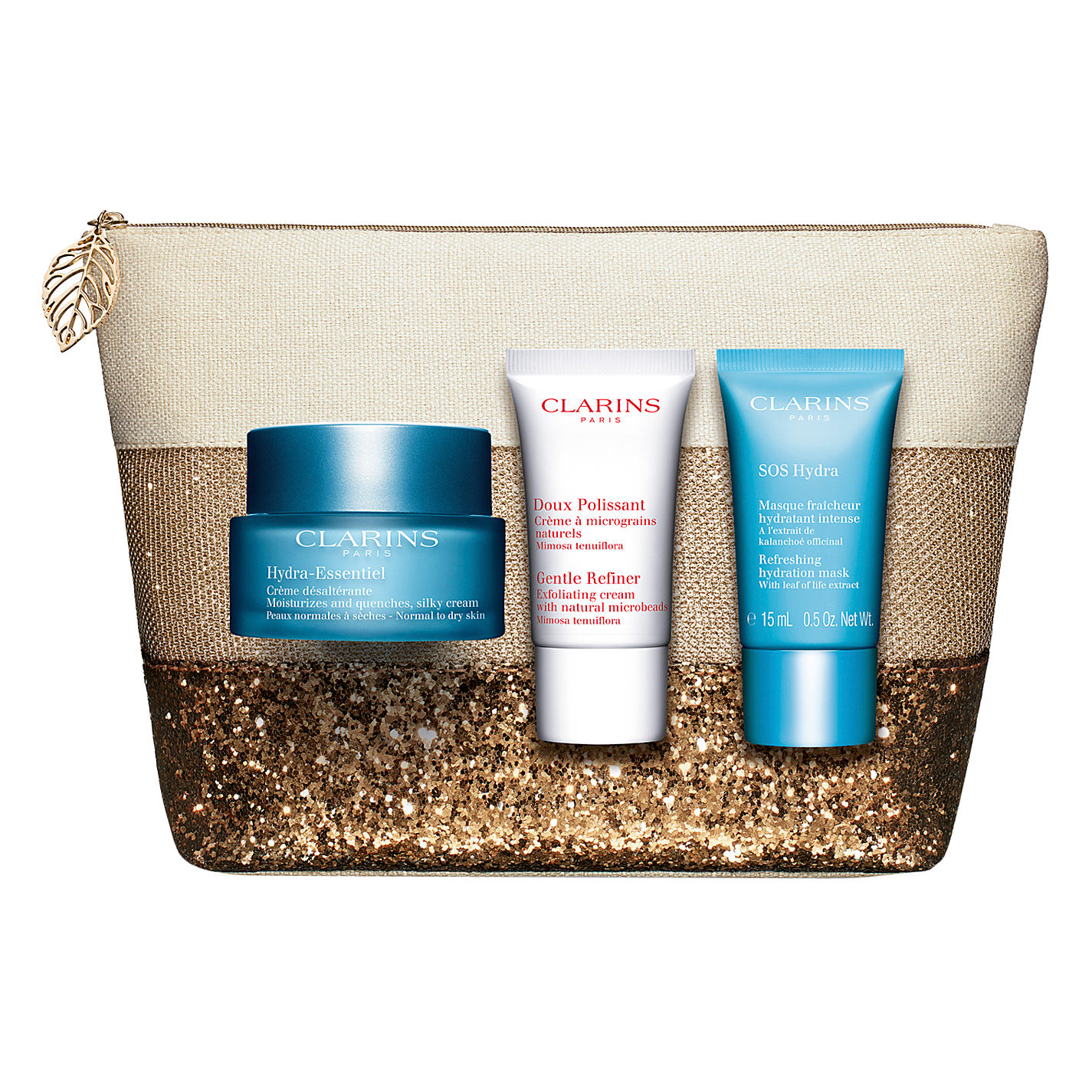 Clarins Hydra-Essentiel Skincare Set的圖片搜尋結果