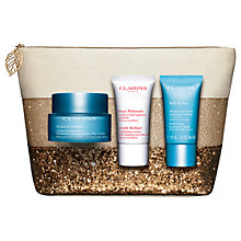 Buy Clarins Hydra-Essentiel Skincare Gift Set Online at johnlewis.com